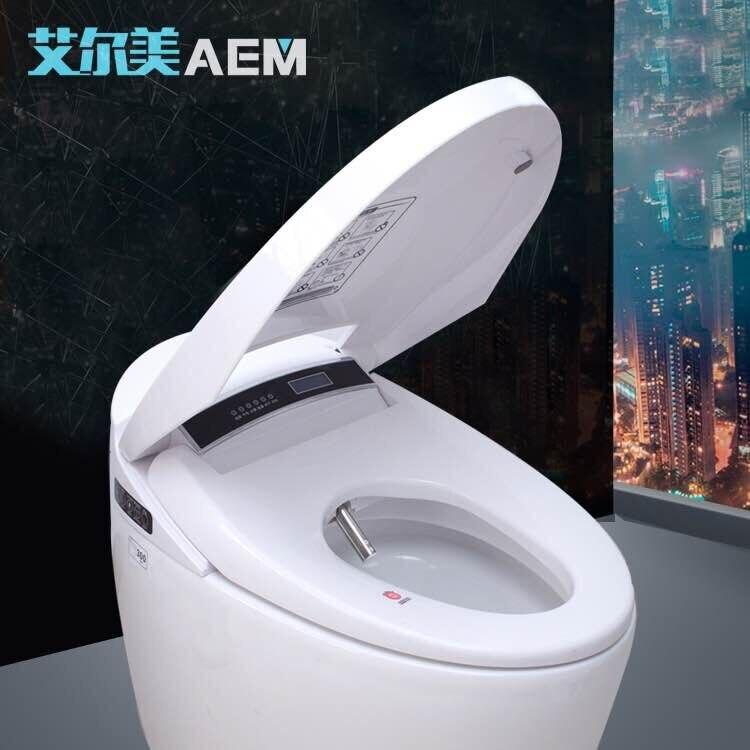 Интеллектуальные Туалет полностью автоматическая промывка сушки унитаза интегрированный постоянного Температура смарт-мгновенный Горяч...