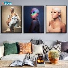 Leinwand Kunstdruck Mädchen Sexy Ariana Grande Poster Süßstoff Gemälde Für Wohnzimmer Wand Kunst Bilder für schlafzimmer Dekorative