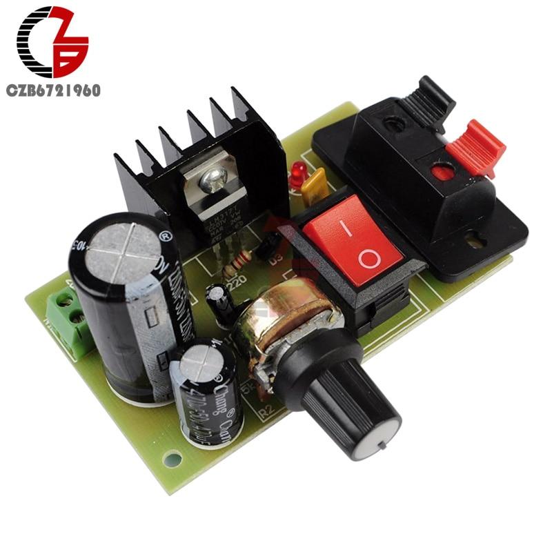 DC Buck Step-Down régulateur 5 V ~ 40 V à 9 V 12 V 24 V 36 V DEL voltmètre Power Supply