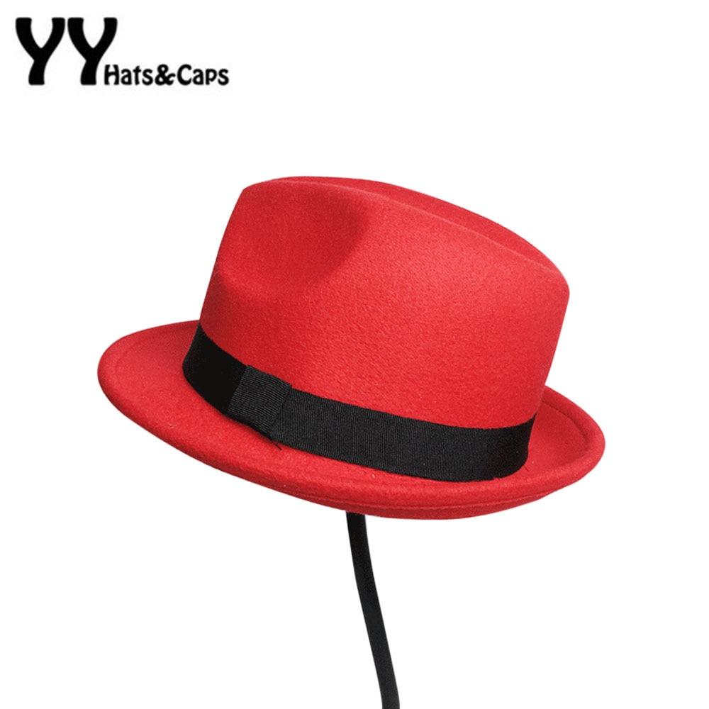Gyerek gyapjú nemez Snap karimájú kalap Trilby fiúk Vintage - Ruházati kiegészítők