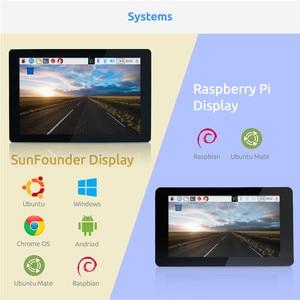 Image 3 - شاشة عرض تعمل باللمس 10.1 IPS من SunFounder HDMI 1280*800 لراسبيري Pi 4B 3B + 3B 2B لاتيباندا بيجل العظام