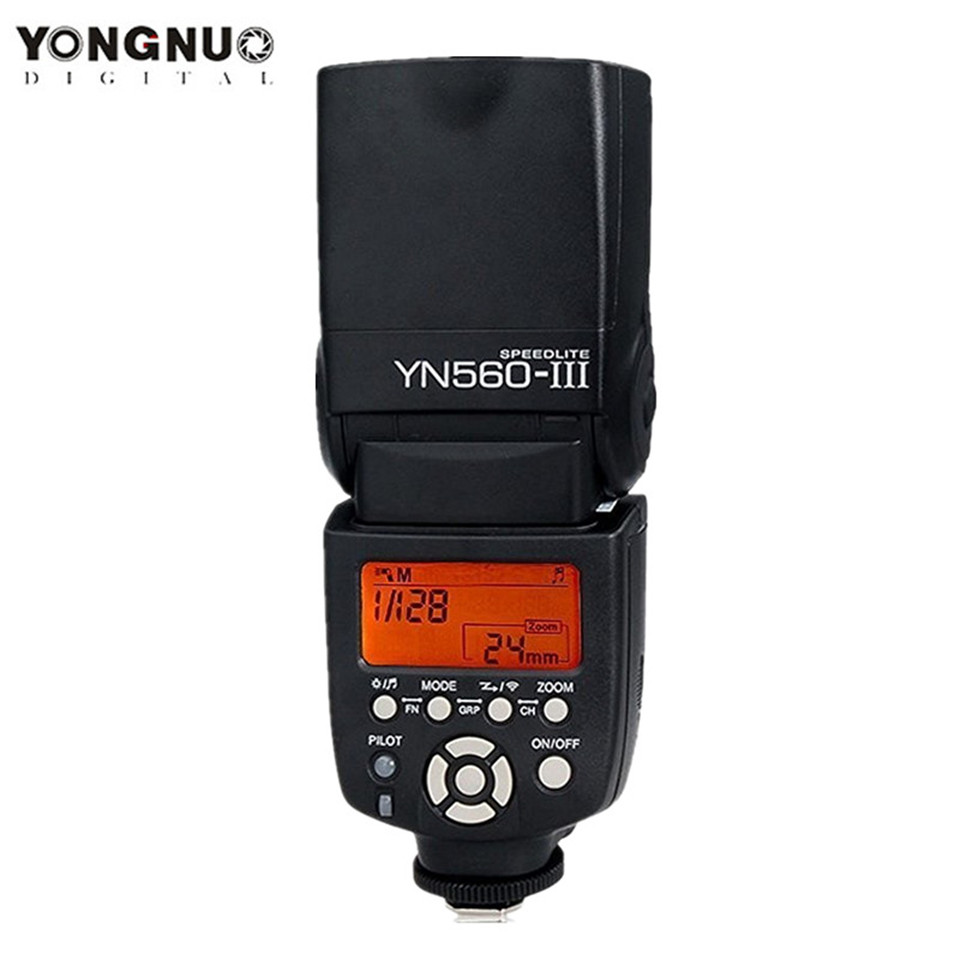 YONGNUO YN560III YN560-III YN560 III Wireless Flash Speedlite Speedlight For Canon Nikon Olympus Panasonic Pentax Camera yongnuo yn560 iii yn560iii flash speedlite flashlight for canon nikon pentax olympus panasonic dslr camera upgrade of yn560 ii