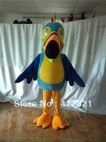 Good version handmade adult parrot mascot costume