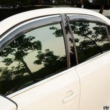 Боковая Дверь Окно Visor Vent Солнце Дождь Щит Delflector для 2012 2013 2014 Volkswagen vw Jetta MK6 Аксессуары