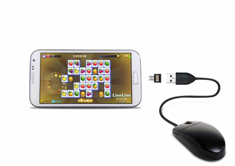 3 قطعة USB OTG المصغّر USB ذكر إلى USB أنثى OTG محول محول ل أندرويد هاتف تابلت لسامسونج هواوي شاومي # L25