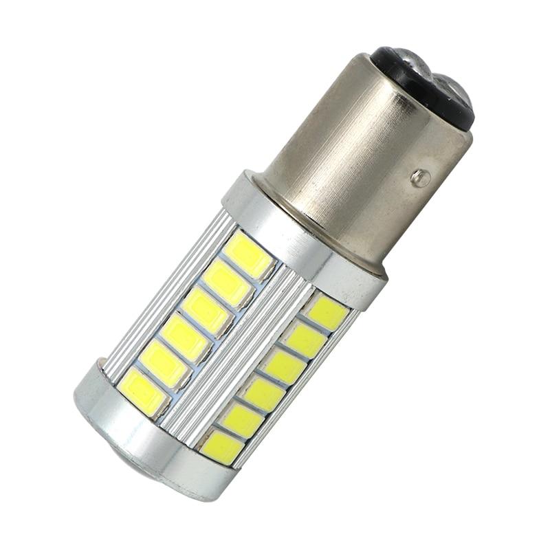 1PCS High Quality 1157 BAY15D P21/5W 33 SMD 5630 5730 LED Car Brake Lights Tail Lamps Turn Signal 33SMD Auto Rear Reverse Bulbs 85w high bay lamps 60w 135w 165w 185w 2700k 6500k 85ra 75lm w