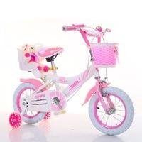 Child Girl Bike Four Wheel Bike Practice Car