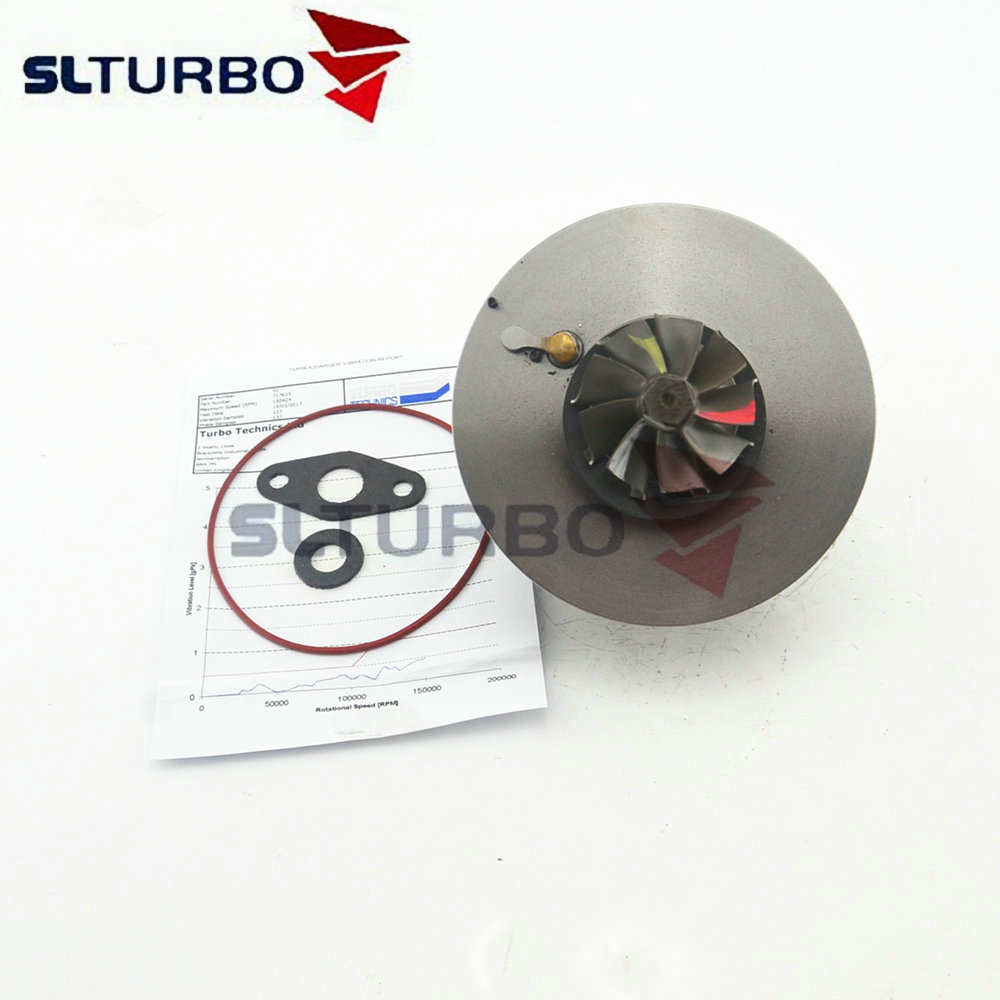 Turbocharger core 717625-5001S for Opel Signum / Vectra C 2.2 DTI 92 Kw 125 HP Y22DTR - cartridge turbine 717625-0001 repair kit image