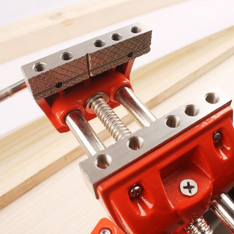 "Купить с кэшбэком 3"" Design Patents Universal Table Vise Aluminium Swivel Tabletop Clamp Vice Tilts Rotate 360 Degree Universal Work"