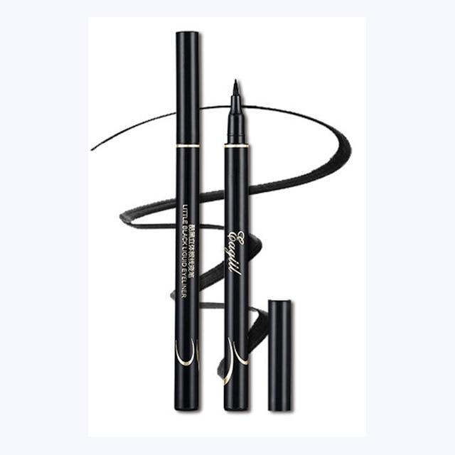 1 Pza nuevo delineador de ojos negro líquido maquillaje impermeable delineador de ojos maquillaje para ojos cosméticos