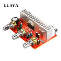 Lusya TDA7377 Placa de amplificador de Audio Digital 2*40W ESTÉREO 2,0 canal amplificador para el altavoz DIY del coche DC12V E5-005