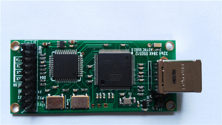 USB Subcard ARM+CPLD Digital Interface Support DSD512 384K