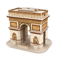 3d puzzle di costruzione di puzzle diy carta cartone puzzle di fama mondiale building model kit jigsaw giochi per adulti