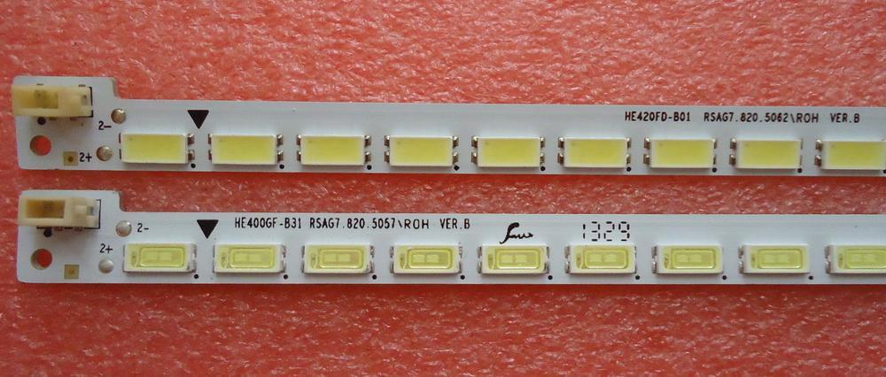 FOR Hisense LED40K160JD Article lamp HE400GF-B31 RSAG7.820.5057 1piece=54LED 500MM