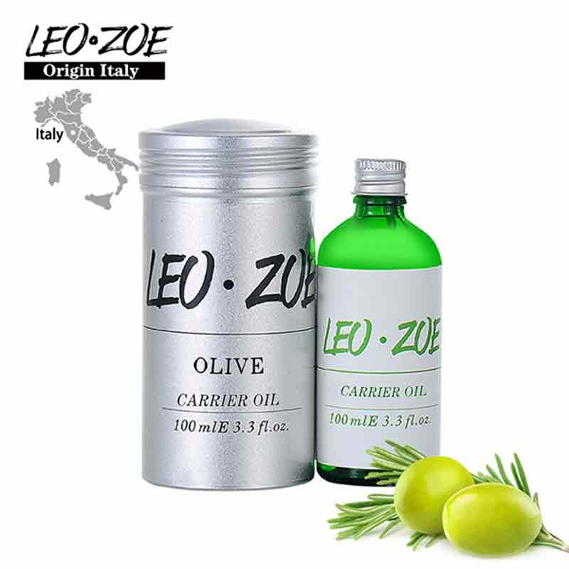 LEOZOE Pure Olive Oil Certificate Of Origin Italy Authentication High Quality Olive Essential Oil 100ML Huile Essentielle leozoe pure camellia oil certificate of origin japan camellia essential oil 100ml essential oil huile essentielle