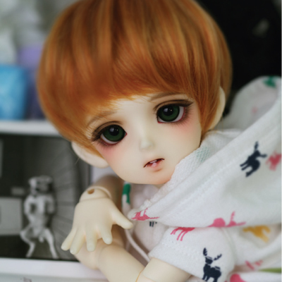 luodoll BJD doll SD doll 1/6 CRBOI small question mark BB baby 6 points baby baby doll (include makeup and eyes)