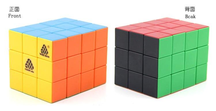 Witeden 3x3x4 cubo mágico cuboid 1c 334