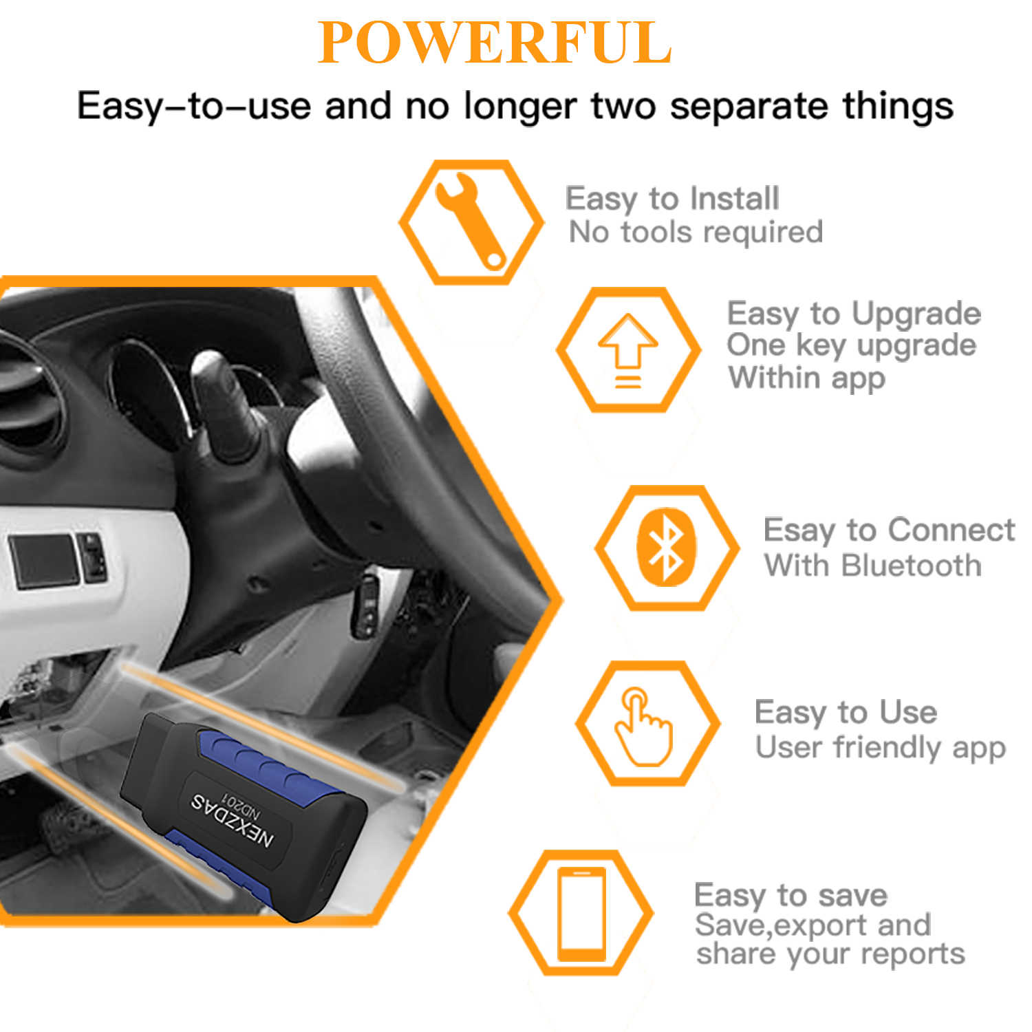 Detail Feedback Questions about HUMZOR OBD2 full system Scanner +EPB