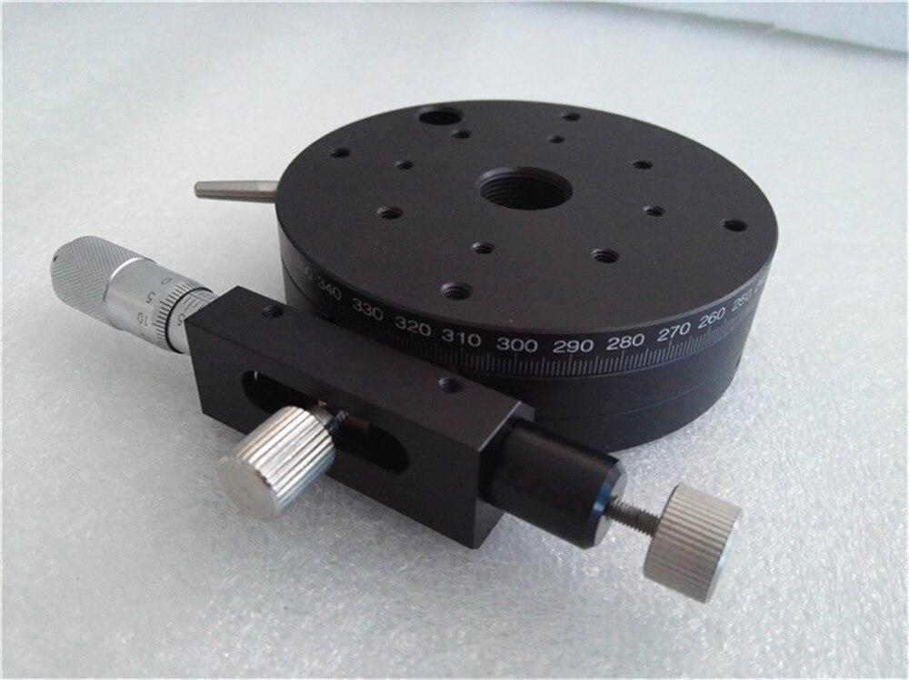 Run-in De Montage Type R Axe Rotatif RGP85-L Précision Diapositive Micromètre Plate-Forme Haute précision CNC Coulissante stade 85mm