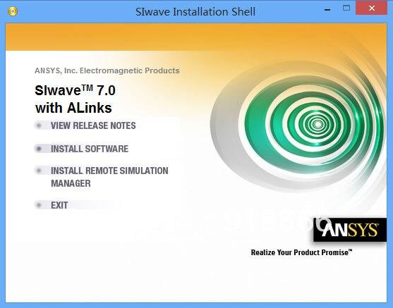 Ansys SIwave 7 0 64 + 5 0 32 bit Ansoft SIwave English
