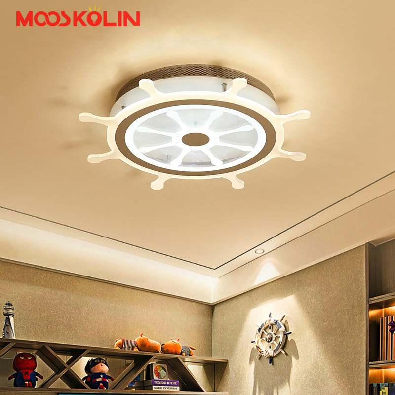 Creative Pirate Ship Children Kids Room Bedroom AC85 - 265V led Chandelier Home Deco Modern Led Ceiling Chandelier FxituresCreative Pirate Ship Children Kids Room Bedroom AC85 - 265V led Chandelier Home Deco Modern Led Ceiling Chandelier Fxitures