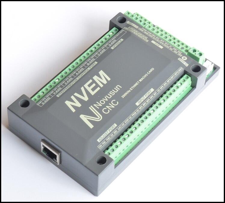5 Axis CNC 200KHZ ETHNET Internet Mach3 Card Stepper motor Controller Board PWM NVME sheriff pwm 200 в китае