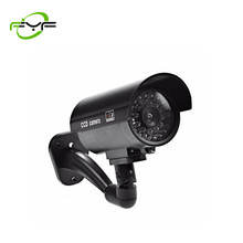 FYF Fake Camera With LED Light Surveillance Waterproof Dummy Camera Outdoor Indoor Home Security
