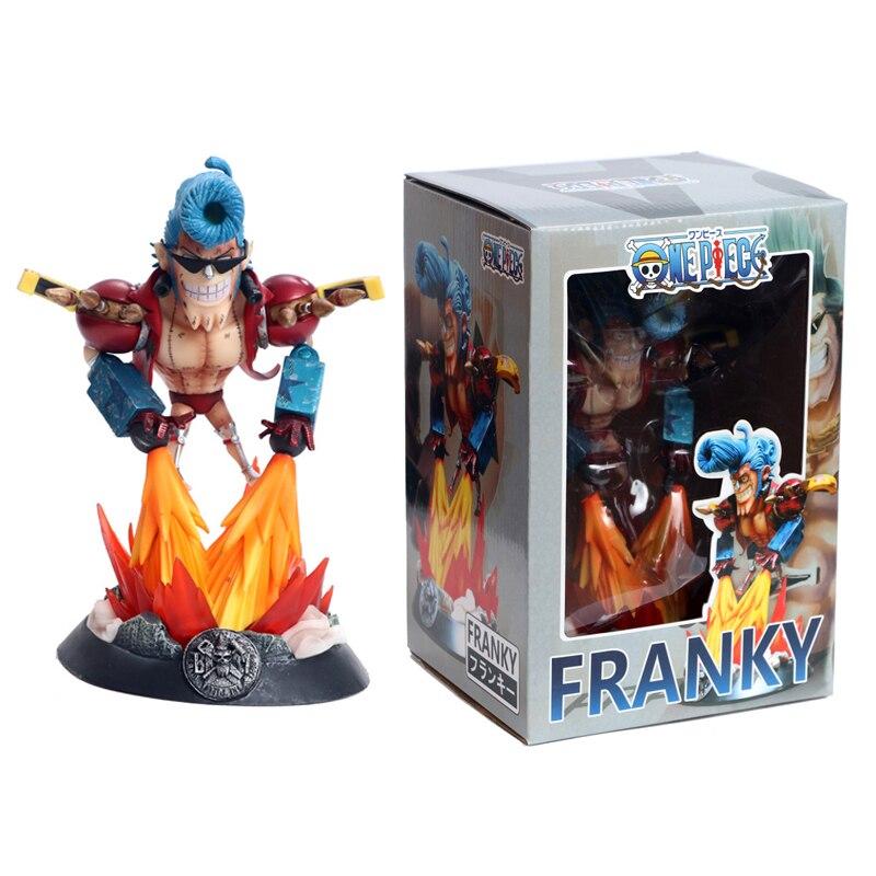 Anime One Piece GK FRANKY Statue Figure Model Toys 22cm