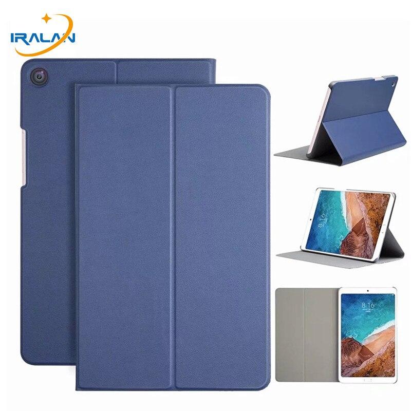 Neue PU Leder Flip Stand Fall Für Xiao mi mi pad 4 Plus 10 2018 tablet Smart Abdeckung für mi pad 4 Pad4 Plus 10,0 zoll + Film + Stylus