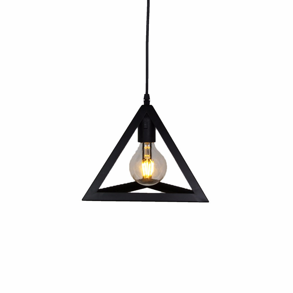 Us 37 57 30 Off Aliexpress Lazg Retro Indoor Lighting Vintage Pendant Light Iron Cage Lampshade Warehouse Style Fixture With 2 Pack