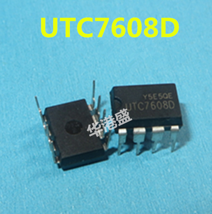 10PCS  UTC7608D UTC7608 YW DIP8  Power Management Chip Quality Assurance