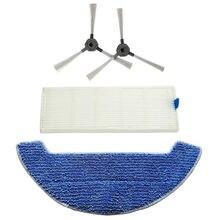 цены Filter Rag Side Brushes Kit For Dibea Gt9 D960 Vacuum Cleaner Accessories Parts