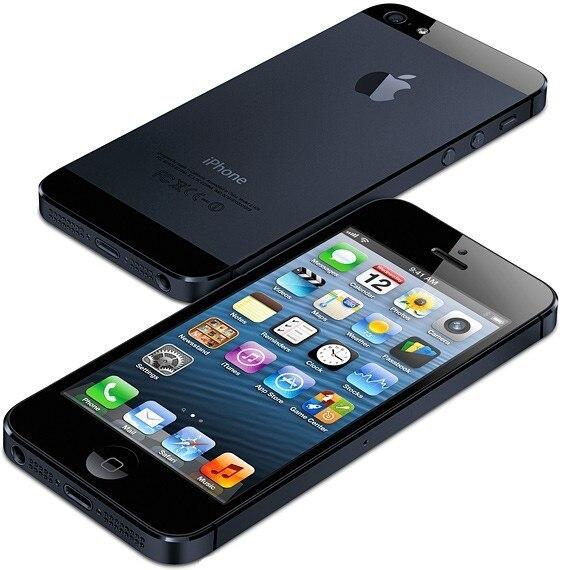 "Used Original  Apple iPhone 5 Unlocked Mobile Phone iOS Dual-core 4.0"" 8MP Camera WIFI GPS  Used Phone free gift 2"