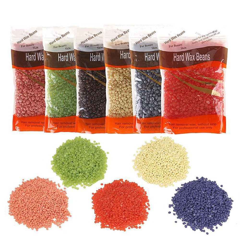 100g/pack Wax Heater Wax Beans SPA Hands Feet Body Bikini Hair Removal Wax Beans Waxing Beauty Salon For Depilatory
