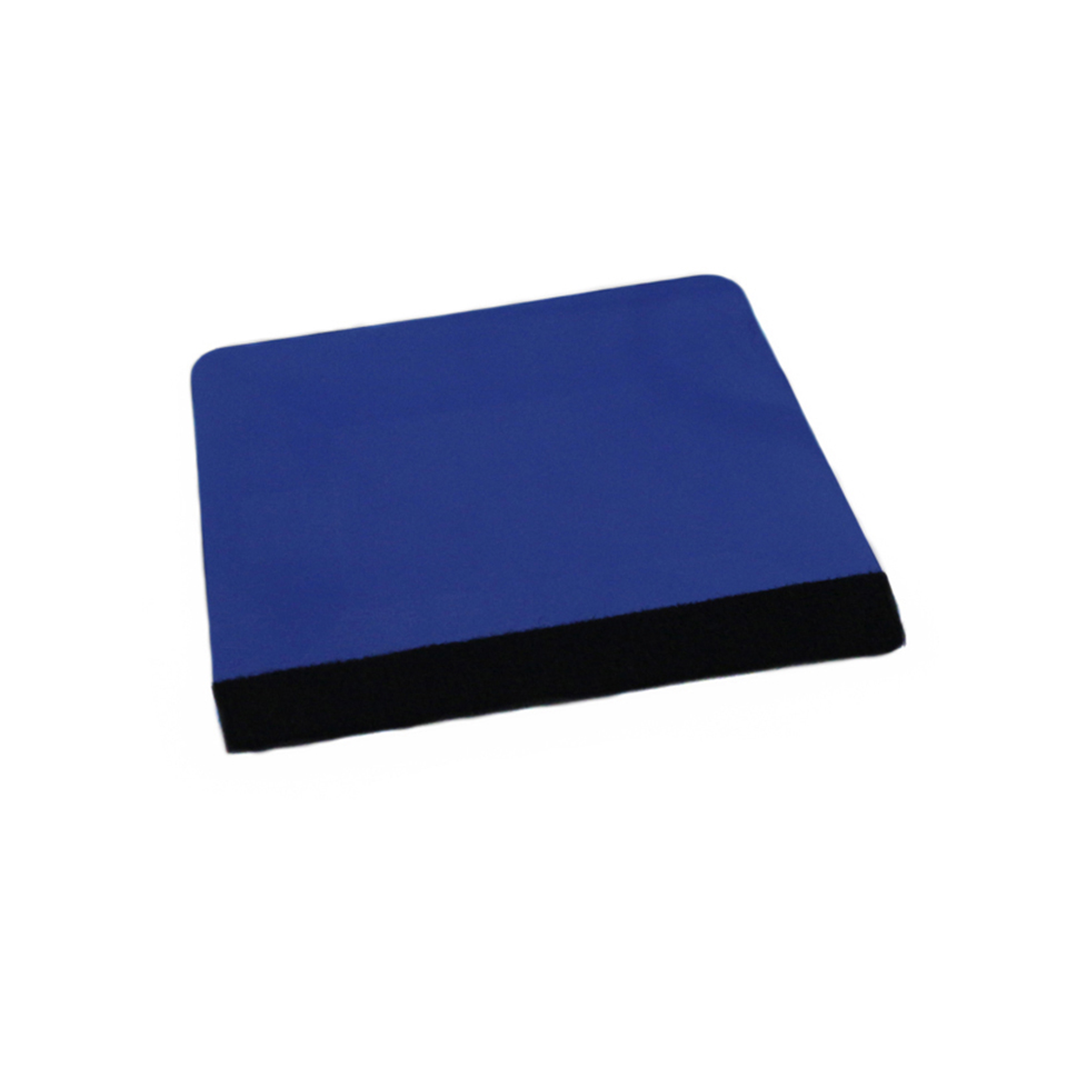 Image 3 - Blue Trapezium Squeegee Sign Making,Vehicle Wrap Squeegee with Felt And Tinting Application Tool MO 18BF-in Car Stickers from Automobiles & Motorcycles