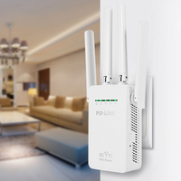 PIXLINK LV WR09 Mini WiFi Repeater Router Access Point Wi Fi Range Extender With 4 External