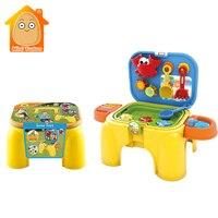 Baby Beach Toys Children SandBox Set Kit Sea Sand Bucket Rake Chair Water Table Play And Fun Shovel Mold Summer Game Outdoor