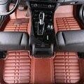 Esteiras do Assoalho do carro Cobre top grade lanti zero 5D resistente ao fogo durável à prova d' água sênior mat para FORD, focus, Mondeo, etc, Styling