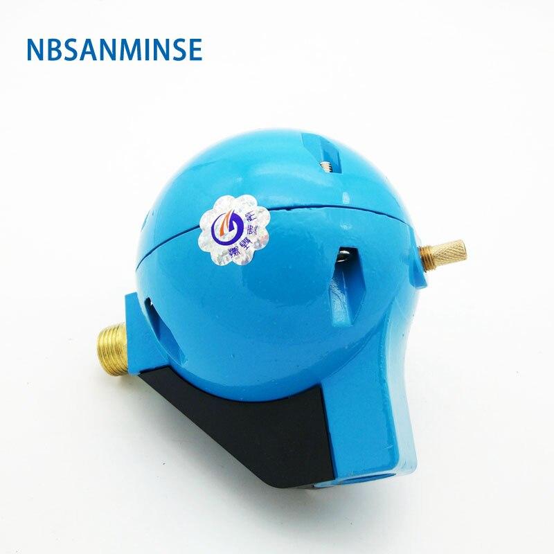 "Vr20b Ball Float Drainage Device G1/2 "" Port Size Aluminium Alloy Body Material Sanmin"