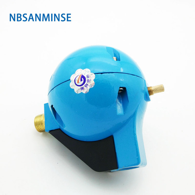 NBSANMINSE G 1/2  SR20B Ball Float Drainage Device Auto Drain for Air Compressor Drain Valve