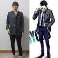 Psycho Pass Shinya Kogami Kougami Cosplay Costume Tailor made Free Shipping