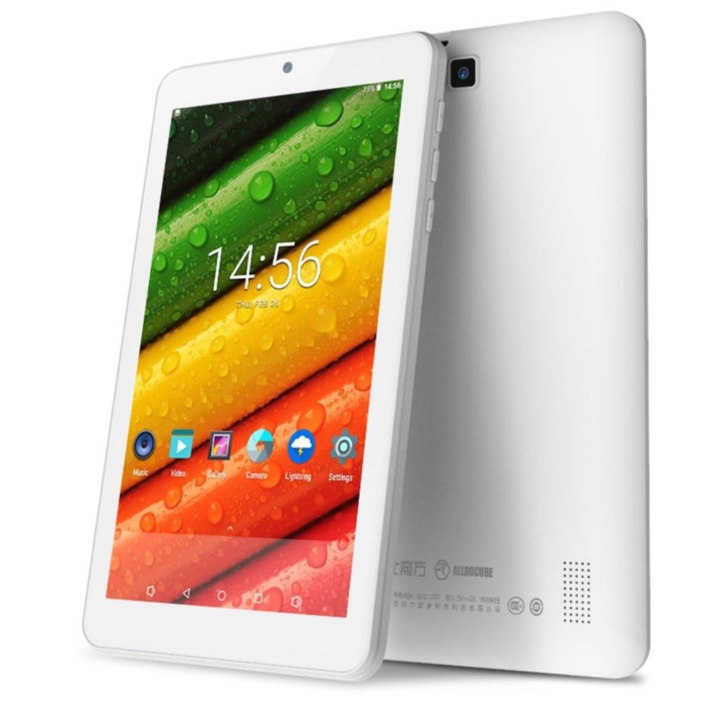 цена на ALLDOCUBE C1 Tablet PC ROCKCHIP RK3126 Quad Core 1GB Ram 8GB Rom 7 inch 1024x600 IPS Screen Android 7.1 WIFI Bluetooth OTG