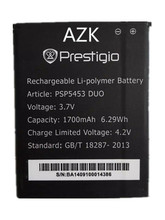 AZK 1700mAh High Quality Li-ion Rechargeable Battery For Prestigio PSP5453 DUO Batterie Batterij Bateria + Tracking Cord