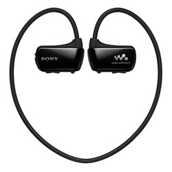 Used,original Sony NWZ-W273S 4 GB Waterproof All-in-One MP3 Player - Black head-mounted player 4GB