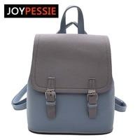 JOYPESSIE Tassel Women Small Backpack PU Leather Backpack Cute School Bags For Girls Fashion Shoulder Bag