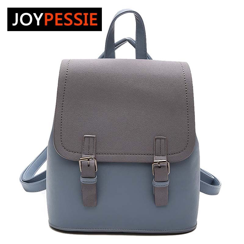 Joypessie Tassel Women Small Backpack Pu Leather Backpack Cute School Bags For Girls Fashion Shoulder Bag Female Backpack