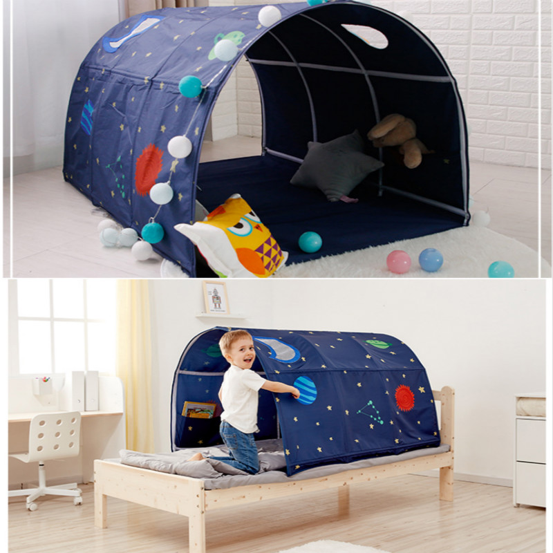 Portable Children's Play House Playtent For Kids Folding Small House Lovely Safe Tent Crawling Tunnel Toy Comfortable Bed Tent
