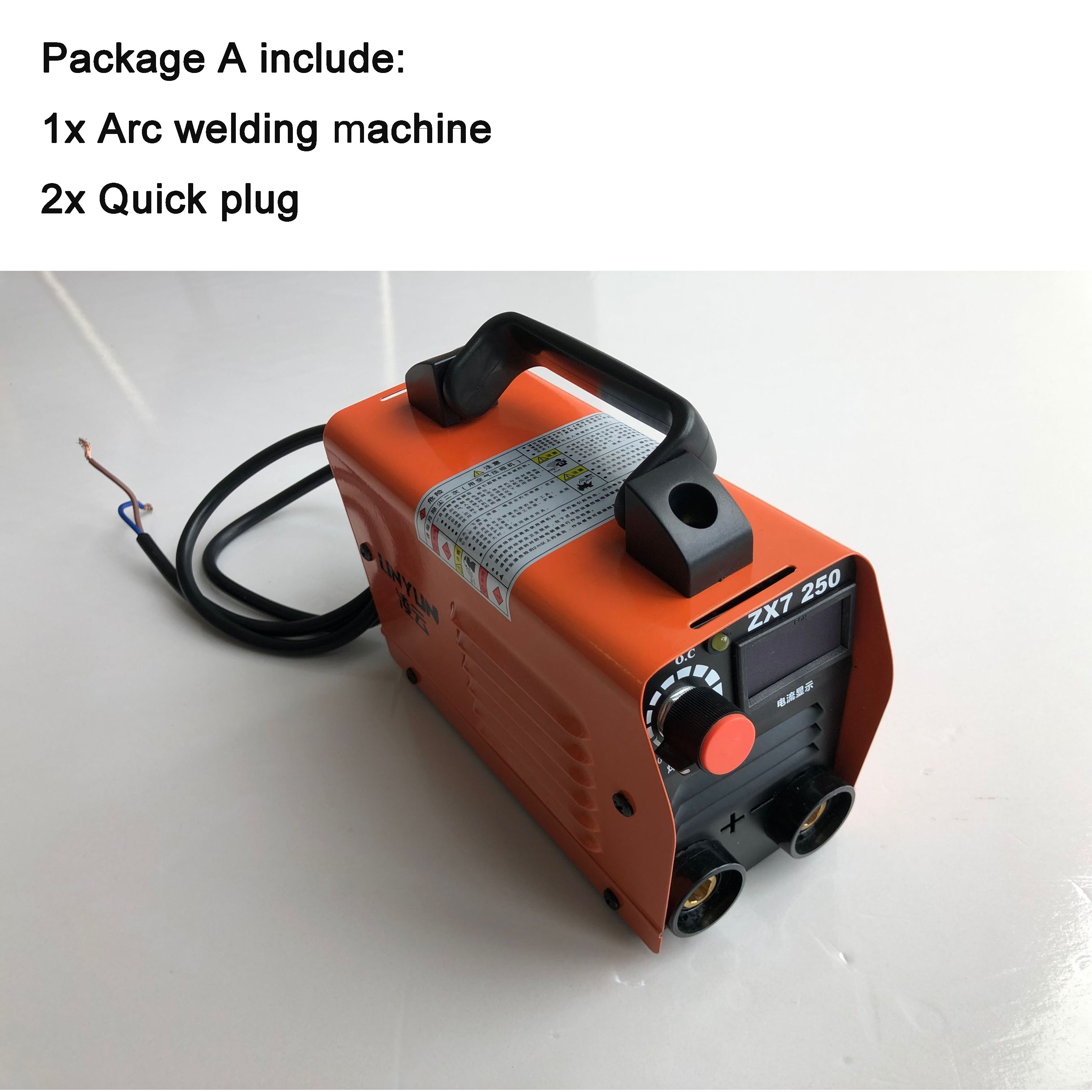 RU lieferung Elektrische arc schweißer inverter Elektrische Schweißen Maschine 200A arc schweißer inverter für Schweißen Arbeits und Elektrische