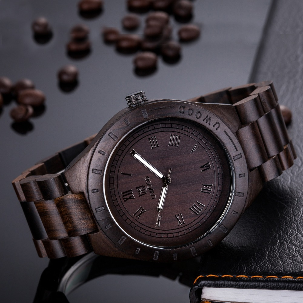 Luxury Mens Unique Gift Full Wooden Watches Man Creative Sport Bracelet Analog Natural Wood Quartz Wristwatch Male Clock Relogio yisuya unique design triangle dial full wood watch men handmade bamboo wooden creative watches analog mens casual clock gift