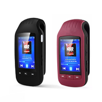2017 Newest Clip Mp3 HOTT1037 New Portable MINI MP3 Player 8GB Sport Pedometer Bluetooth MP3 Music